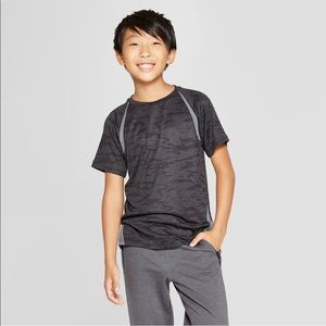 Boys gray athletic shirt